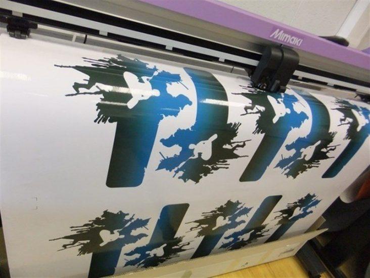 Custom shaped stickers (Huddersfield)